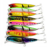 Wholesale multi jointed fishing lures for sale - Group buy Multi Jointed Fishing Lure Segment Plastic Bait Simulation Fish Shape D Bionic Eye Fishings Hook High Quality hr UU