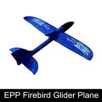 mjx cámara aérea al por mayor-Espuma EPP Tiro A Mano Firebird Avión de Lanzamiento Al Aire Libre Planeador Avión de Juguete Modelo de Avión de Juguetes Educativos