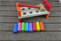 Wholesale Pounding Bench - Baby Toy Pounding Bench Plan Toy Pounder for Early Childhood Education Preschool Training Learning Toys