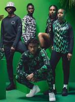 Wholesale men grey jacket - 2018 2019 World Cup SOCCER JERSEY training suit 2018 19 IWOBI chandal FOOTBALL long sleeve jacket kits tracksuit Sportswear