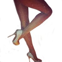 Wholesale shiny pantyhose sexy for sale - Group buy SCECENT Women Tights Sexy Charming Shiny Pantyhose Glitter Girl Glossy Stockings Elastic Slimming Nylon Collant Women s Stocking