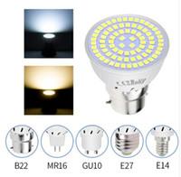 ingrosso lampadina mr16 led-LED GU10 Lampadina Faretto Lampada Mais MR16 Lampadina a Led GU5.3 SMD2835 Candela LEDs Luce Per Decorazione Domestica Fiala LED Led