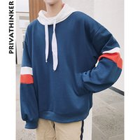 7d24f02c73c Privathinker 2018 Spring Mens Oversized Hoodie Sweatshirt Korean Baggy  Hoodies Fashion Male Pullover Harajuku Sweatshirts Coat D18100704