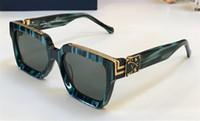 Wholesale logo online - Luxury MILLIONAIRE M96006WN Sunglasses full frame Vintage designer sunglasses for men Shiny Gold Logo Hot sell Gold plated Top qualit