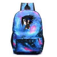 ingrosso sacchetto di spalla cosplay-Hot giapponese Anime Naruto Zaino New fashion straay sky Cosplay School Schoolbag per adolescenti Ragazzi Ragazze Laptop Shoulder Bags