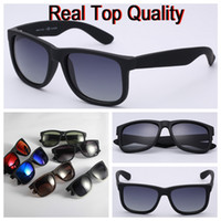 Wholesale lens men for sale - Group buy Top quality brand sunglasses justin model for man woman polarized UV400 lenses with original boxes packages accessories everything