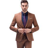 Kaufen Sie Im Grosshandel Schwarze Rosa Anzuge Fur Brautigam 2019 Zum