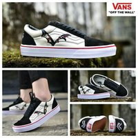 Wholesale Flying Dogs - Vans 2018 new Year of the fly dog Old Skool Shoes zapatillas de deporte Designer Casual Brand Canvas trainers Sneakers Chaussures 35-44
