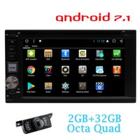 Wholesale android bluetooth app resale online - EinCar Double din Android Car Sterei Receiver Bluetooth GPS Navigation car dvd Touch screen Wifi Web Browsing APP Dowanlod