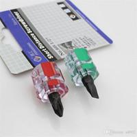 car miniature toptan satış-Mini Çapraz Vida Cıvata Sürücü Araba Çamurluk Tamir Için Taşınabilir Minyatür Oluklu Tornavida Gadgets Yüksek Qulity 1 4hf Ww