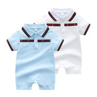 Wholesale newborn size clothing for sale - 2018 new baby girls boys clothes cute Cartoon baby romper high quality cotton one piece Jumpsuit newborn baby girl clothes