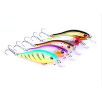Wholesale sets saltwater lures resale online - 5pc g cm Fishing Lure Set Minnow Floating Lure Isca Crankbait Bait Pesca Jig Fishing Hook Set with Fishing Tackle Box