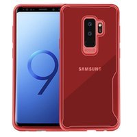 galaxy net cep telefonu davaları toptan satış-Yeni samsung galaxy için S8 S9 A6 A8 artı Not 8 J2 J3 J5 J7 başbakan cep telefonu kılıfı temizle şeffaf cep telefonu TPU kılıf kapak ince silikon