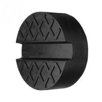 Wholesale disk frame online - Car Rubber Disc Pad Car Vehicle Jacks Jack Pad Frame Protector Rail Floor Jack Guard Adapter Tool Jacking Lifting Disk