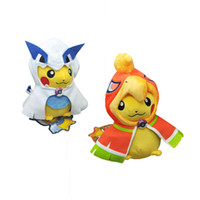 Wholesale ems cosplay for sale - EMS PKC Cosplay Lugia Ho Oh CM Soft Doll Stuffed Party Gift Plush Toy