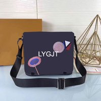 Wholesale office bags - New Genuine Leather Bags Crossbody Messenger Bag Leather Office Bags for Men Document Briefcase Travel Bags