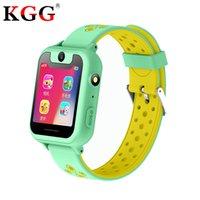gps traseiro da câmera venda por atacado-KGG S10 Crianças GPS Inteligente Relógios HD 1.54