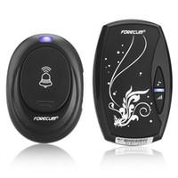 ingrosso trasmettitore wireless a porta-Smarthome Wireless Campanello Kit Ricevitore elettronico per campanello senza fili Ricevitore per campanello di casa intelligente Accessorio