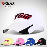 b5098a33f59 High Quality Outdoor Sunscreen Golf Cap Men Hat Professional Sportswear  Tennis Ball Cap Summer Women Breathable Baseball Hat