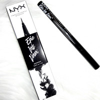 Wholesale head stock - NYX Epic Ink Liner NYX EYELINER PENCIL Black NYX Epic Ink Liner Headed makeup eyeliner pencil Black Color liquid eye liner in Stock