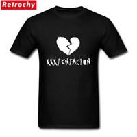 chemises bas prix achat en gros de-Tees Shirt XXXTentacion Garçons Bonne Qualité T-Shirts pour Hommes Manches Courtes Low Price Brand Merch