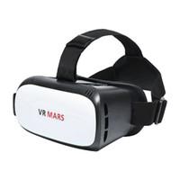 universal 3d vr al por mayor-Gafas universales de realidad virtual ABS VR01 3D VR con auriculares 3D para teléfono inteligente de 4.7