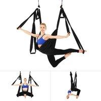 ingrosso swing yoga anti gravità-Inversione Flying Yoga Hammock Paracadute anti-gravità Hanging Swing