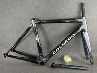 Wholesale Colnago Road Bicycle - Colnago C60 frame carbon frameset road bike Frame carbon bicycle black color design frameset high quality A01
