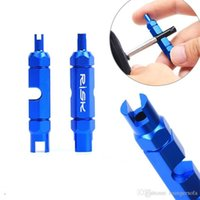 Wholesale Bicycle Valve Core Tool Multi Function Dismantling Wrench Save Time Disassembly Non Skidding Small And Delicate Tools lm ff