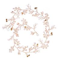 Wholesale wood bow glasses resale online - Bridal Flower Wedding Headpiece Sets Jewelry Crowns Bridal Headpieces New Bridesmaid Handmade Hairband Wreath Bridal Headdress