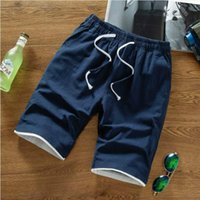 Wholesale flannel clothes - Luxury Mens Shorts Summer Style Casual Solid Short Pants Brand Designer Shorts With Letters Logo Fashion Sport Short Plus Clothing M-4XL