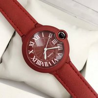 Wholesale watchs women - 2018 selling New Women brand watch fashion Quartz watch Ms. arenaceous belt with watchs Wrist watch and box free shipping