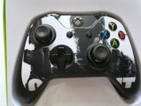 original xbox joystick großhandel-originaler Xbox One Joystick-Controller mit DIY-Design und Aufkleber für Xbox One-Konsole