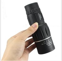 Wholesale optical monocular for sale - Group buy 16X52 dual tone HD all optical night vision single telescope