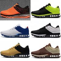 Wholesale 2018 Maxes Men Casual Shoes BENGAL Orange Grey Black Gold maxes KPU cushion Casual Shoes mens shoes size