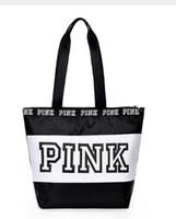 ingrosso ragazze di viaggio-2018 Happy pink girl travel handbag women Travel Business Handbags Victoria borsa a tracolla spiaggia grande capacità segreta borse