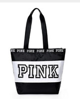 seyahat kızları toptan satış-2018 Mutlu pembe kız seyahat çanta kadın Seyahat Iş Çanta Victoria plaj omuz çantası büyük gizli kapasiteli çanta