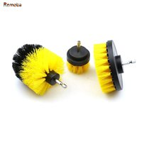 Wholesale industrial pieces for sale - 3 pieces Dia quot quot quot Electric Drill Clean Brush for Kitchen Bath Wall Floor Ceramic Tile Cleaning