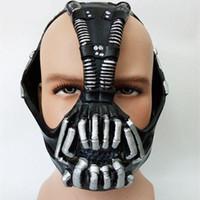 maskeler gagged toptan satış-Bane Maskeleri Film Cosplay Sahne Geyik oyuncak lateks Cadılar Bayramı için Başlık Maske