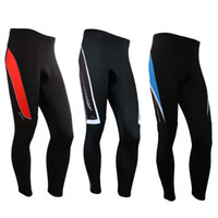 Wholesale cycling thermal trouser for sale - Group buy New Men s Fleece Thermal Cycling Pants Padded Outdoor Sports Tights Winter Bike Bicycle Trousers Color
