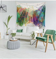 Wholesale Beach Style Sofa   Nice Wall Tapestry Multifunction Printing  Tablecloth Sofa Cover Beach Towel Nice
