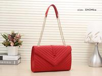 çanta tasarımcıları çapraz vücut toptan satış-Çanta tasarımcısı Y çanta çanta tasarımcısı zincir omuz çapraz vücut kadın tasarımcı çanta moda tote messenger çanta