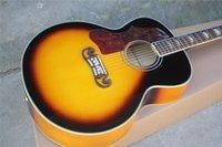 guitarra acústica pickguard al por mayor-Guitarra acústica de mano izquierda de 43