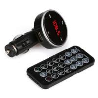 gövdeye monte baş yukarı ekran toptan satış-Araba MP3 Çalar Son stilleri Kablosuz Bluetooth LCD MP3 Çalar Araç Kiti SD MMC USB FM Verici Modülatör Oto Aksesuarla @ # 128