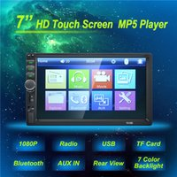 Wholesale support vcd dvd resale online - 7 Hight Quality Autoradio Din General Car Models LCD Touch Screen Car Radio Player Bluetooth Car DVR Audio Support Rear View Camera