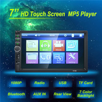 auto dvd spieler gps bluetooth tv großhandel-7 '' Hight-Quality Autoradio 2 Din Allgemeine Automodelle LCD-Touchscreen-Autoradio-Player Bluetooth-Auto-DVR-Audio-Rückfahrkamera