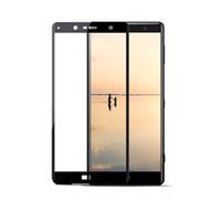 xperia z film al por mayor-Para Sony Xperia XZ1 XZ2 Compact XZ Premium XZP XA2 Ultra XA1 Plus protector de pantalla de cristal templado de cubierta completa