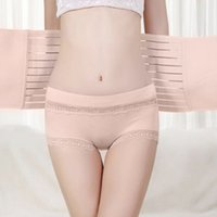 Wholesale Belly Band Shapewear - Wholesale-Postpartum Girdle Postnatal Mother Breathable Elastic Recovery Belly Bands Abdomen Waist Belt Maternity Body Shapewear Reducer