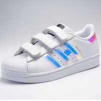 Wholesale White Board Rubber - NEW Children Kids Baby Boy Girl Casual Fashion Superstar Shell Toe Board Shoes Female Sneakers Child Zapatos Deportivas Mujer Sapatos Shoes