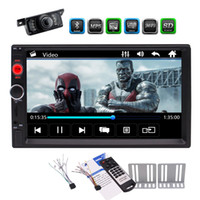 Wholesale mp3 player double speaker for sale - Group buy 7 in Dash Double Din Car MP5 Player Automotive Car Stereo Entertainment System MP5 MP3 Music Video Player Points TouchScreen FM Radio